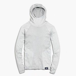 New Balance for J. Crew Seamless Hoodie, Size S